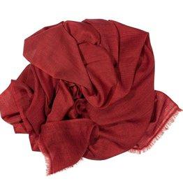 Kaschmirschal Kamala rosa/rot