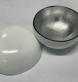 Cocosnuss weiss/silber