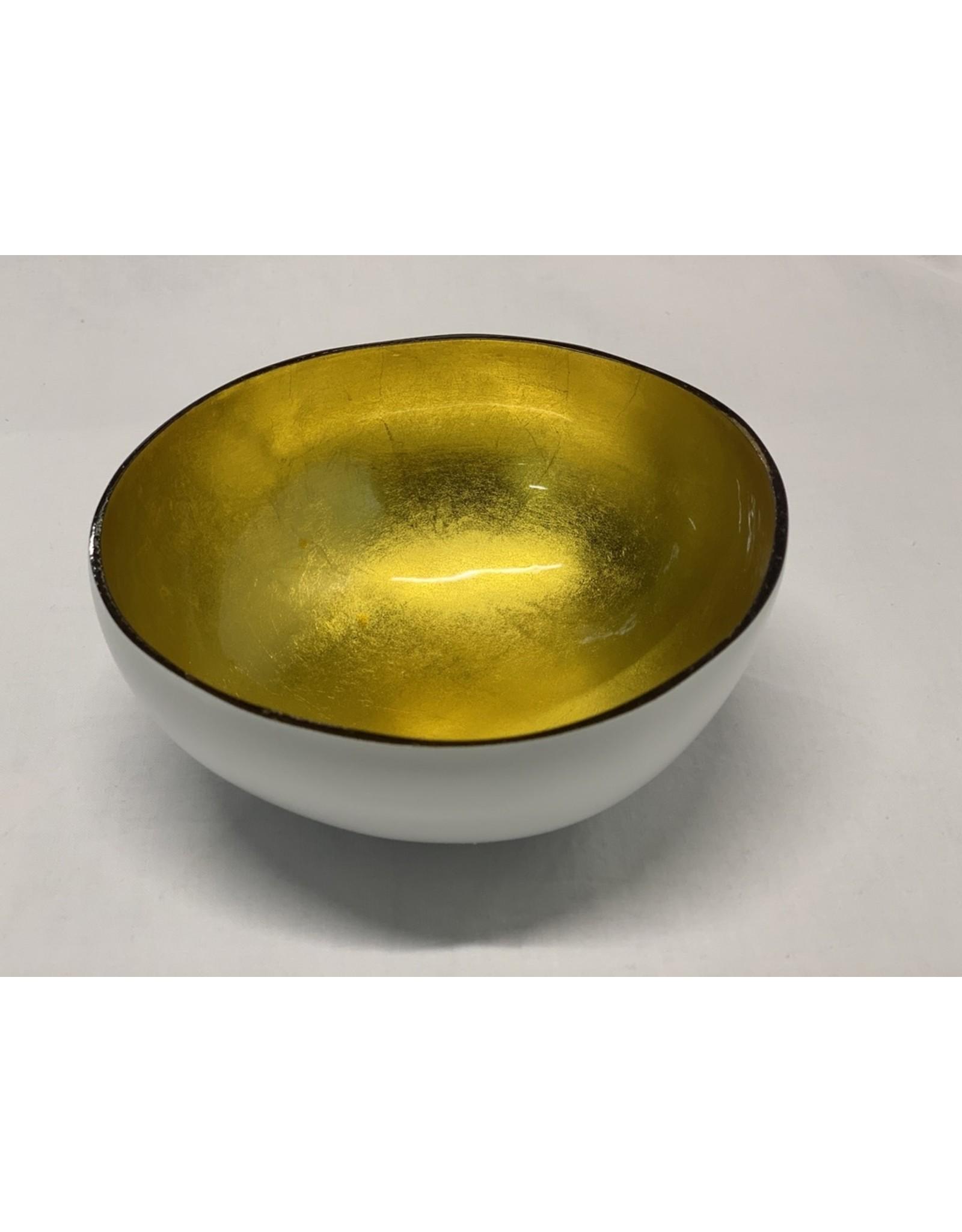 sense&purpose Cocosnuss weiss/gold Cocosnussschale
