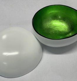 Cocosnuss weiss/grün