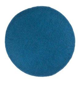 Filz Sitzkissen d-blau