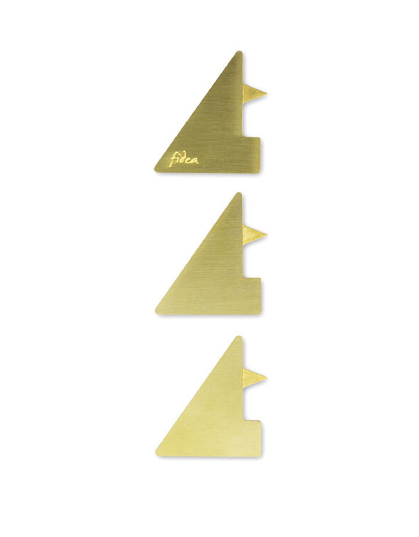 Fidea design Cosmos Kerzenhalter gold
