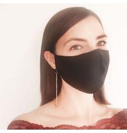 Maskenkettchen silber