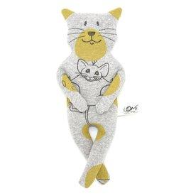 Katze Felis Maus waschbar