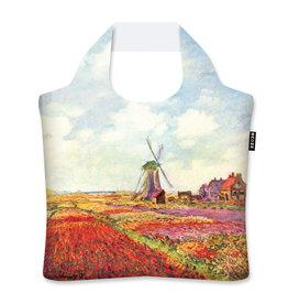 Ecozz Tulip Fields in Holland - Claude Monet