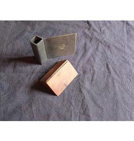 Fuschina da Guarda Käsemesser mit Holzblock aus Arvenholz