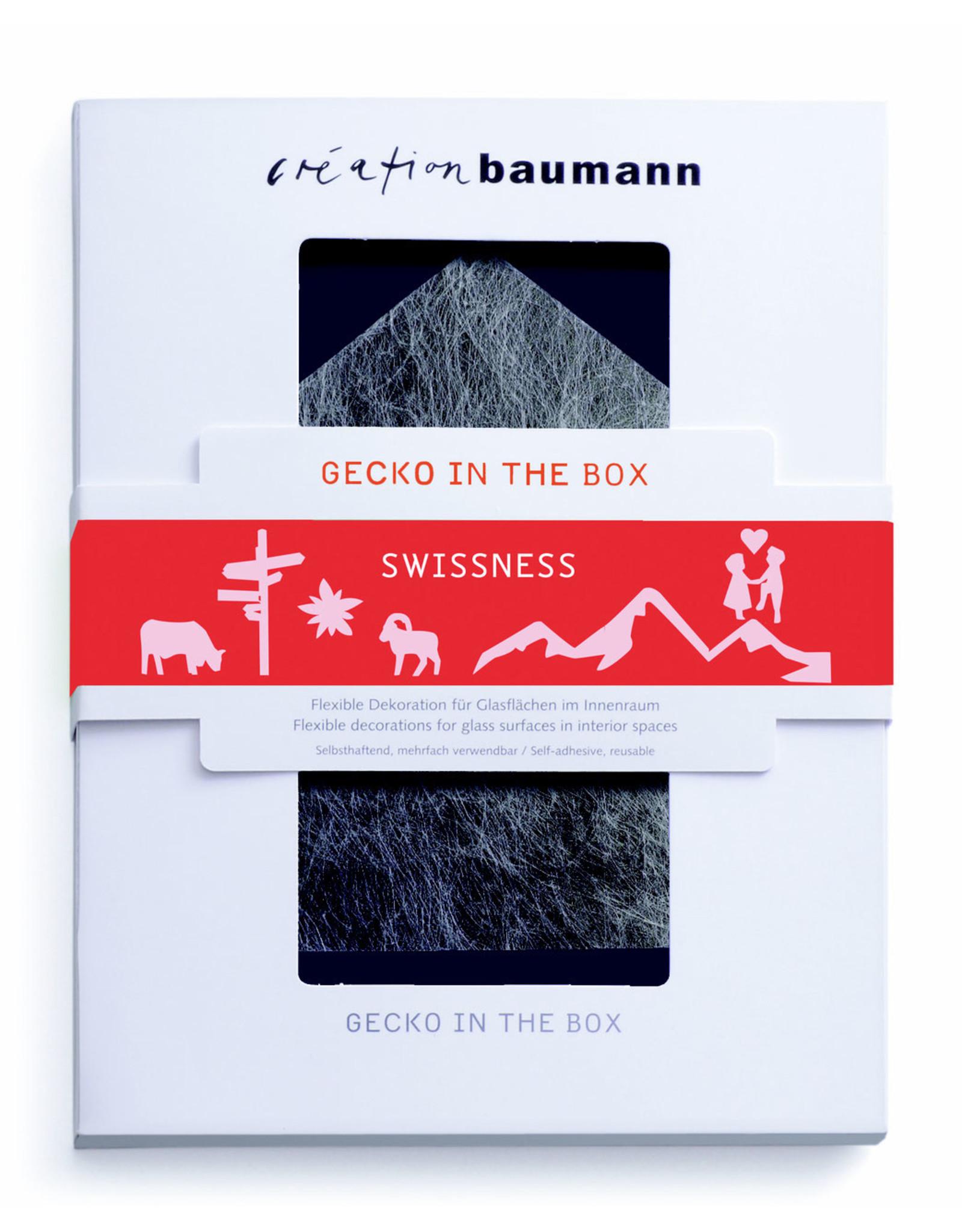 Création Baumann Gecko in the Box Swissness