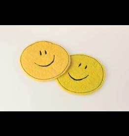WBZ Glasuntersetzer Smiley