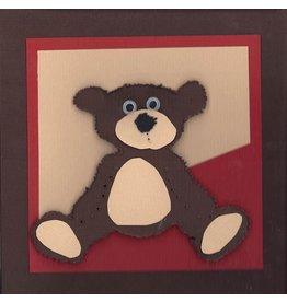 """Stiftung Alpenruhe Schreibkarte """"Teddybär"""""""