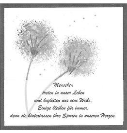 "Stiftung Alpenruhe Schreibkarte ""In unserem Herzen"""