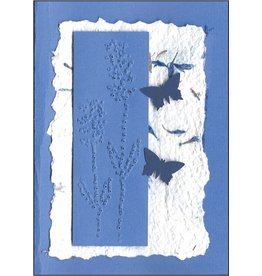 "Stiftung Alpenruhe Schreibkarte ""Lavendel"""