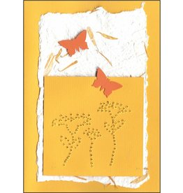 "Stiftung Alpenruhe Schreibkarte ""Ringelblume"""