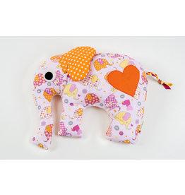 Stiftung Alpenruhe Elefant gross Rosa