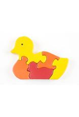 Stiftung Alpenruhe 3D Puzzle Ente mit Jungen 5 Teile