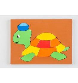 Stiftung Alpenruhe Kinderpuzzle Schildkröte