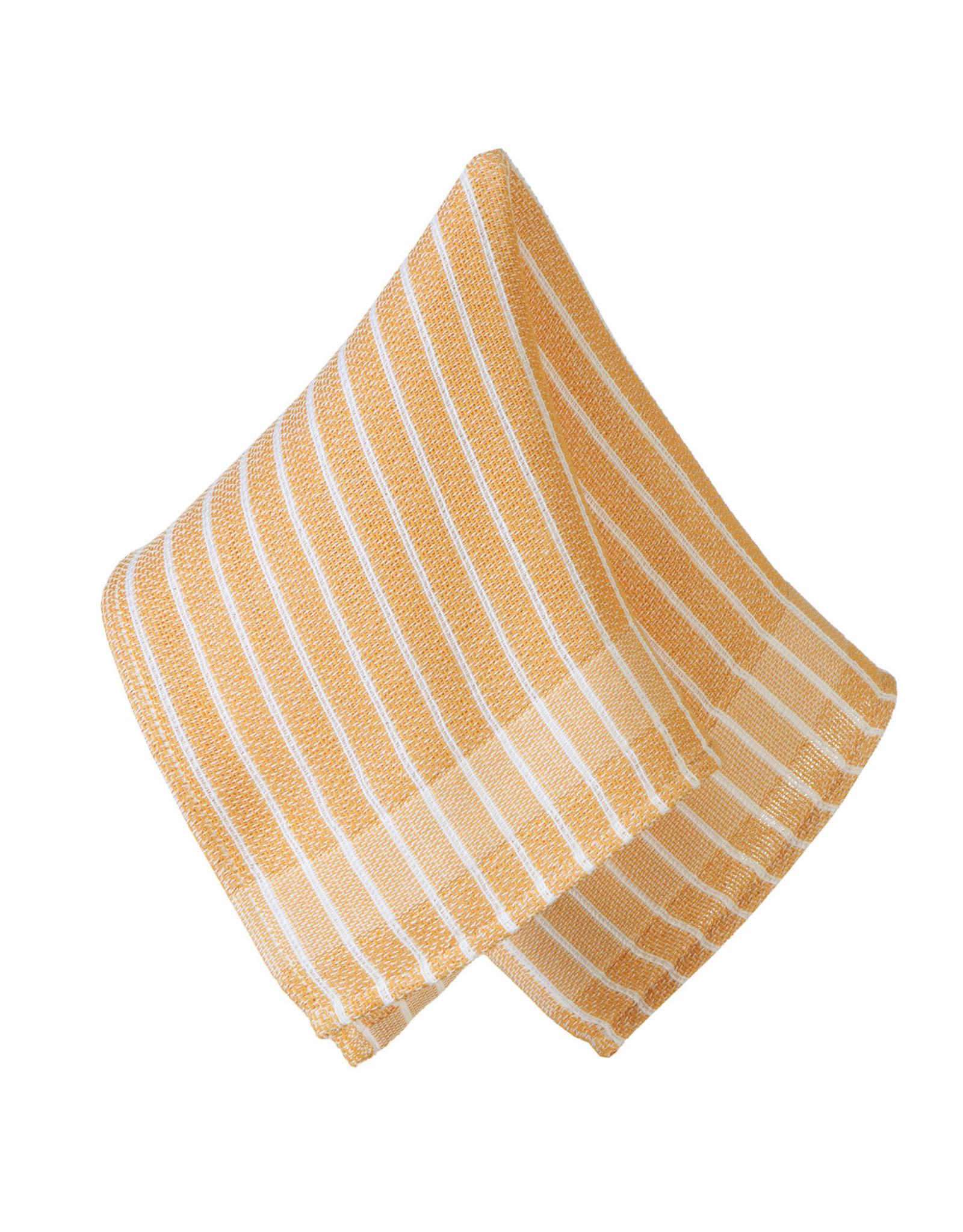 Rigotex Allzwecktuch Doppelgewebe senf 100% Baumwolle