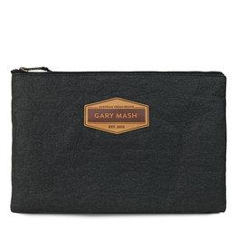 Gary Mash Pinatex Clutch Handtasche schwarz