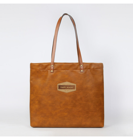 Gary Mash Shopper Bag Cognac Brown