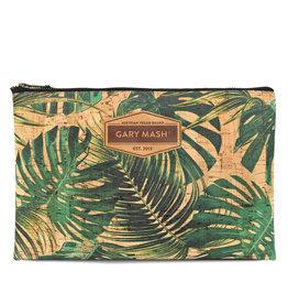 Gary Mash Kork Clutch Handtasche Palmen