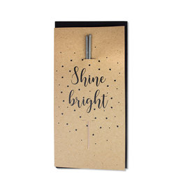 Fidea design Faltkarten A6 Eva shine bright Magic