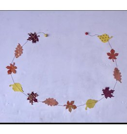 sense&purpose Papiergirlande Blätter Herbst
