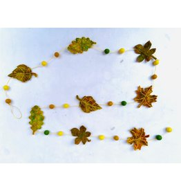 sense&purpose Filzgirlande Blätter Herbst
