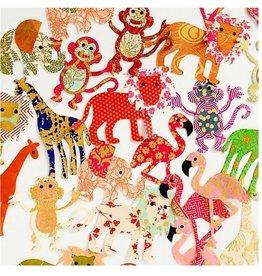 sense&purpose Papier Konfetti Zoo