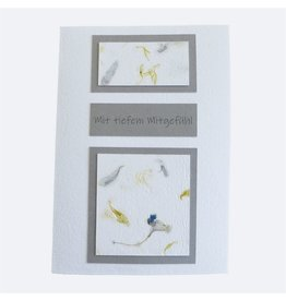 InclusioPlus Floral in Grau Trauer