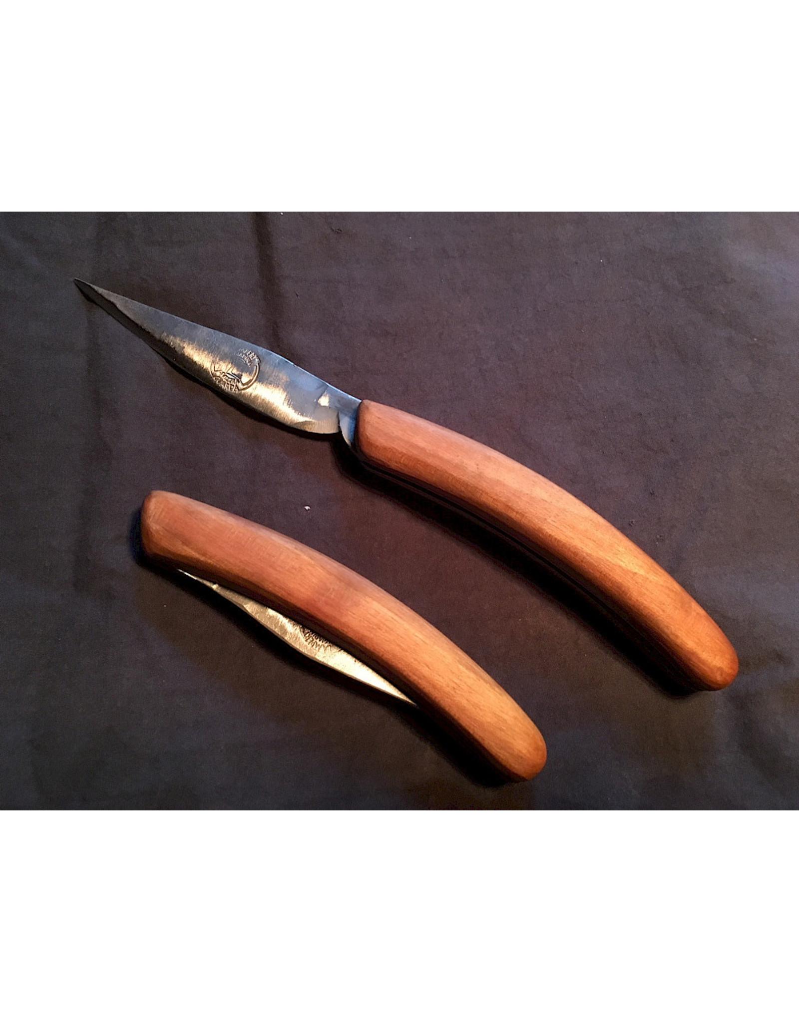 Fuschina da Guarda Steakklappmesser Stahl / Holz von Hand geschmiedet