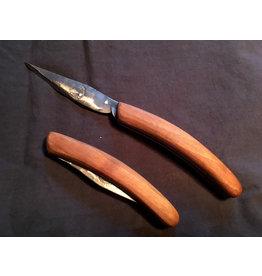 Fuschina da Guarda Steakklappmesser von Hand geschmiedet