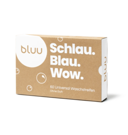 bluu Waschstreifen ohne Duft