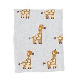 Strickdecke Dotty Giraffe