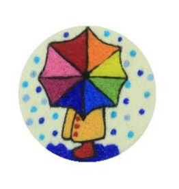 Filzseife Umbrella