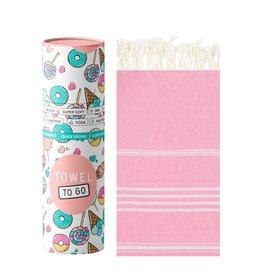 Towel to Go Hamamtuch Ipanema Kids pink