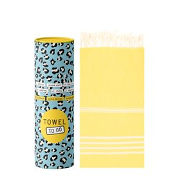 Towel to Go Hamamtuch Ipanema gelb