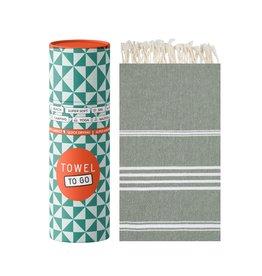 Towel to Go Hamamtuch Ipanema khaki