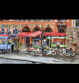 Faltkarte  Marktplatz