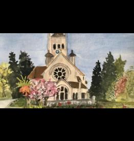 Faltkarte Basel Pauluskirche