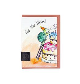 Fidea Design Kinderüberraschung/ Torte Faltkarte