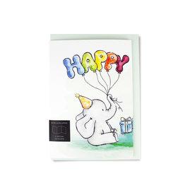 Fidea Design Kinderüberraschung/ Ballone Faltkarte