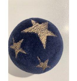 Stressball mit Kräutern Weihnachten blau