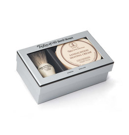 Taylor of Old Bond Street Giftbox Sandalwood Pure Badger & Shavingcream 150g