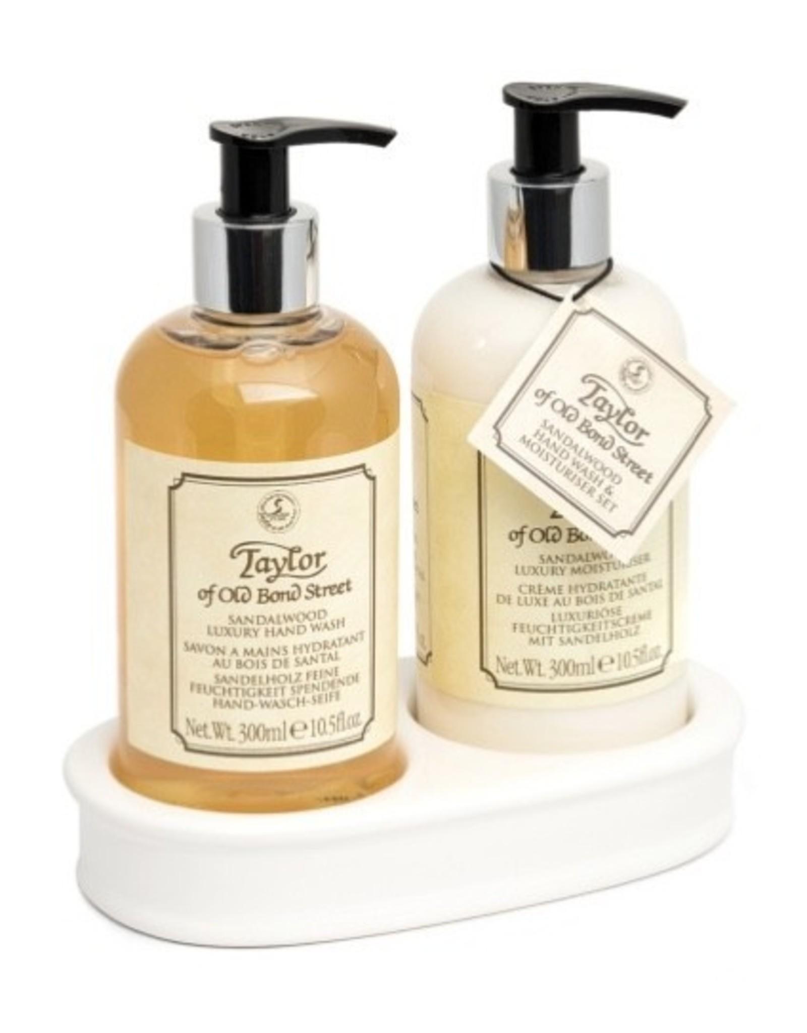Taylor of Old Bond Street Taylor Sandalwood Hand Wash & Moisturiser Gift Set 2x300ml