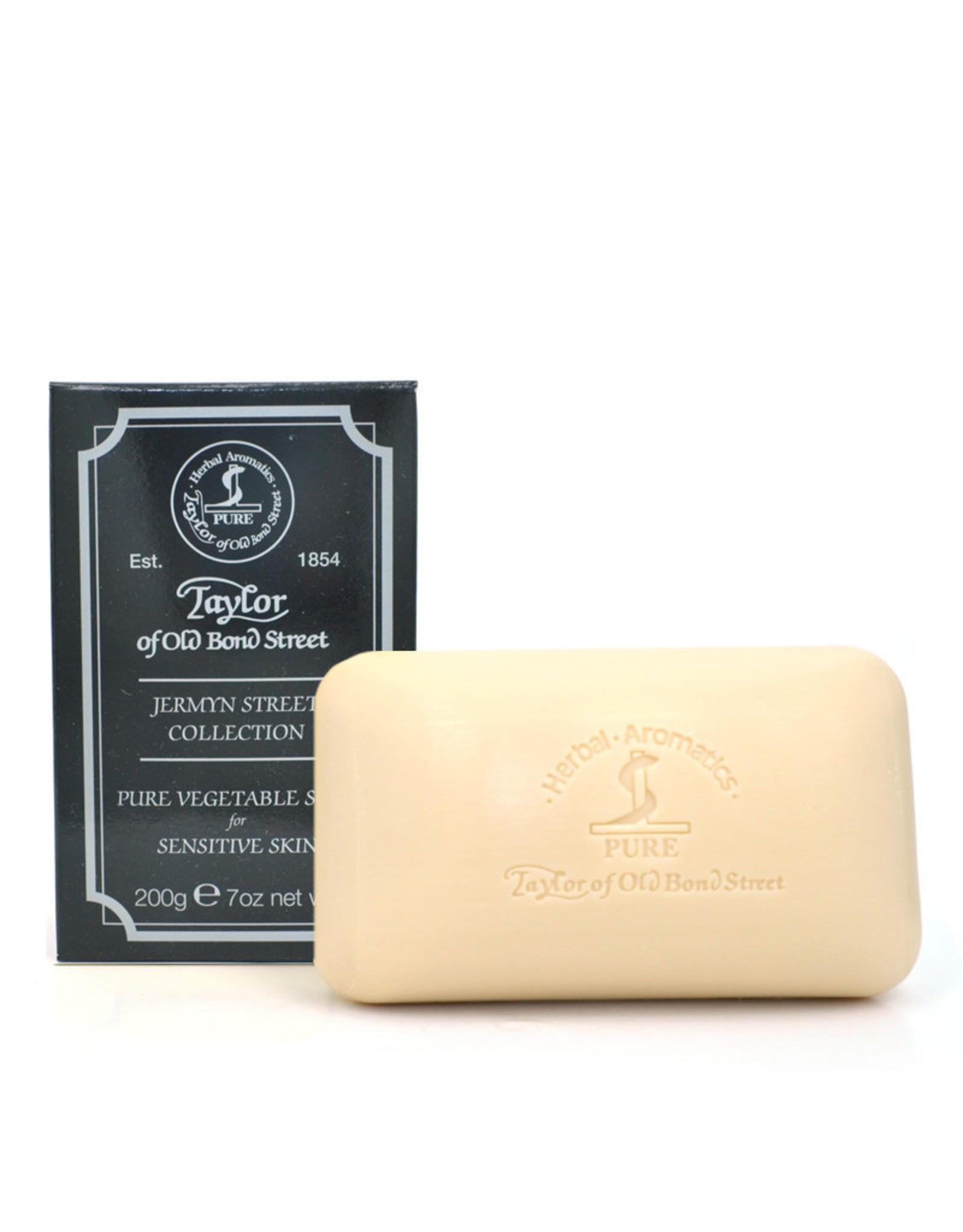 Taylor of Old Bond Street Taylor Pure Vegetable Soap 200g  Jermyn Street