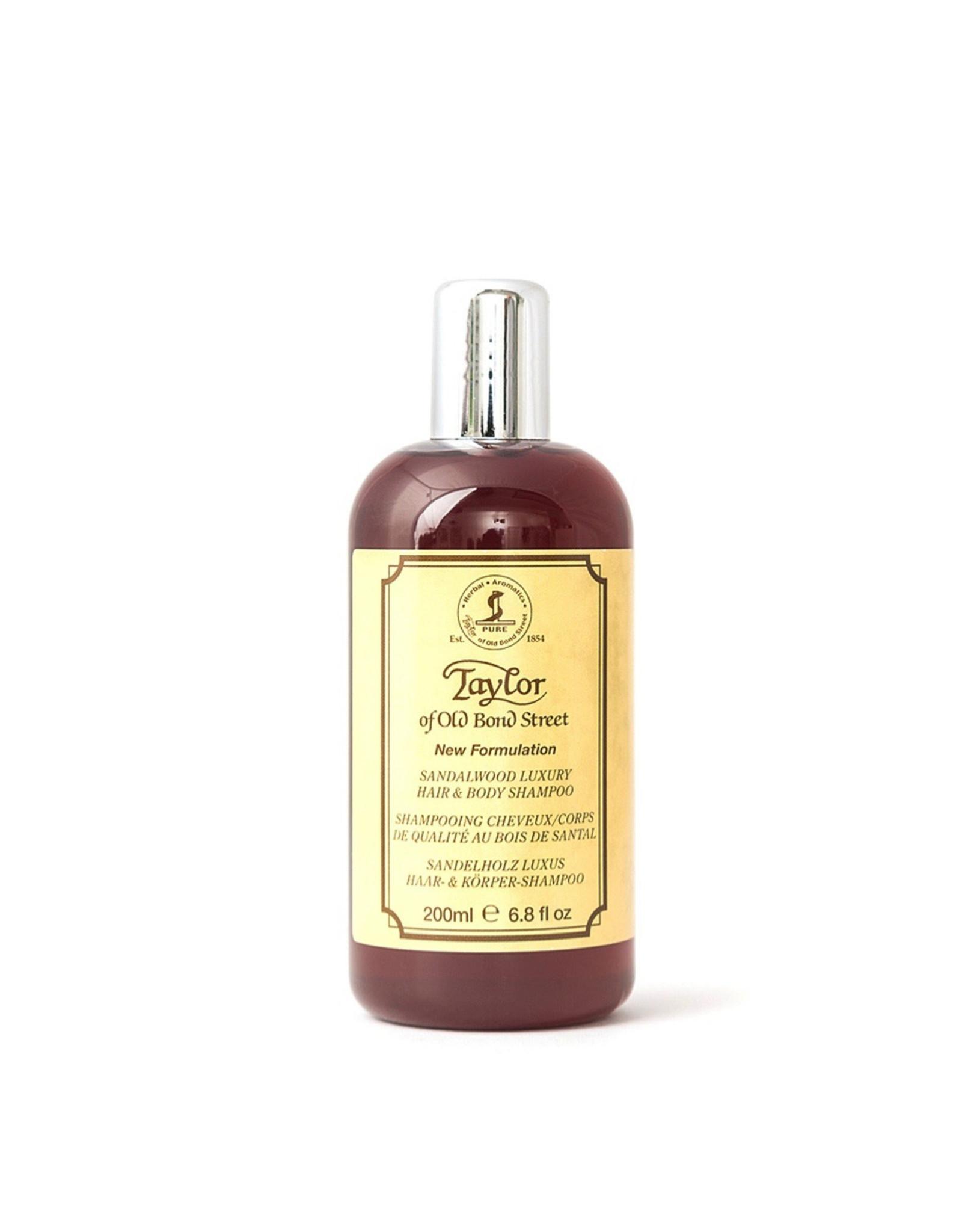 Taylor of Old Bond Street Hair & Body Shampoo 200ml Sandalwood