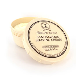 Taylor of Old Bond Street Scheercreme 150g Sandalwood