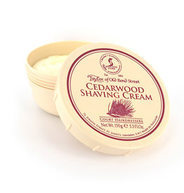 Taylor of Old Bond Street Scheercreme 150g Cedarwood