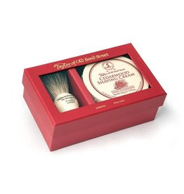 Taylor of Old Bond Street Giftbox Pure Badger & Shavingcream 150g Cedarwood
