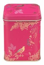 Meander Theeblikje Vogels Roze