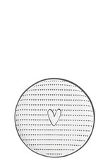 Bastion Collections Teatip Heart & Pattern